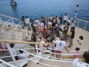 150808 メグミ船⑪深層水を汲む①