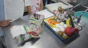 ②「エコ料理」食材