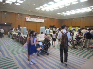 ①-1 大津市「環境フェスティバル」フォラム展示会場